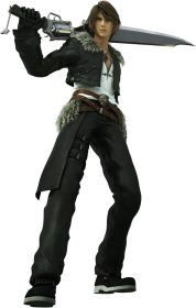Final Fantasy 8 Squall character figure
