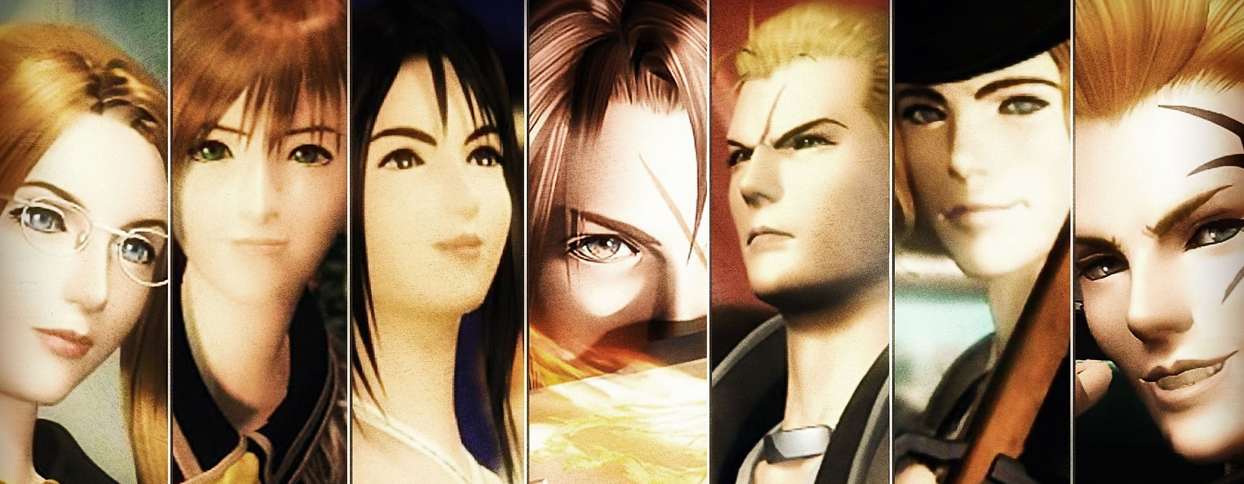 Final Fantasy 8 art 09 characters