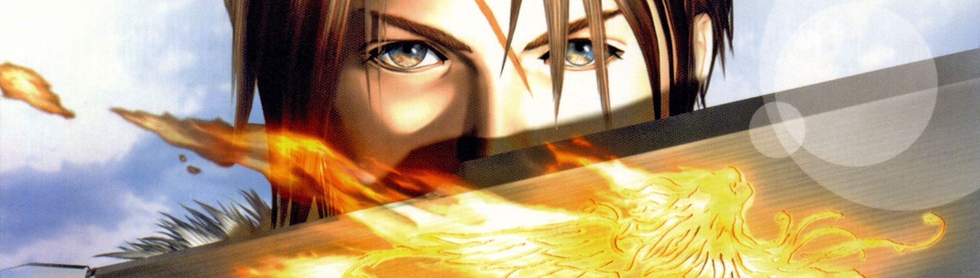Final Fantasy 8 cover line