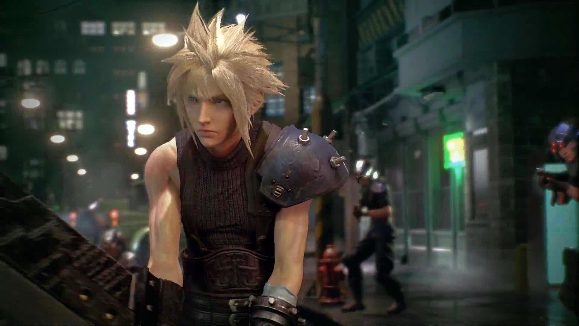 PlayStation Experience 2015 Final Fantasy VII Remake scr 3