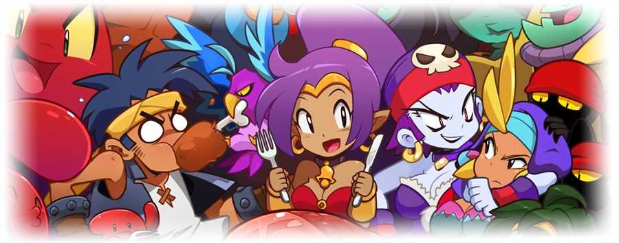 Shantae and the Pirate's Curse art 2