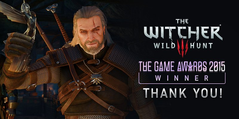 The Witcher 3 The Game Awards 2015