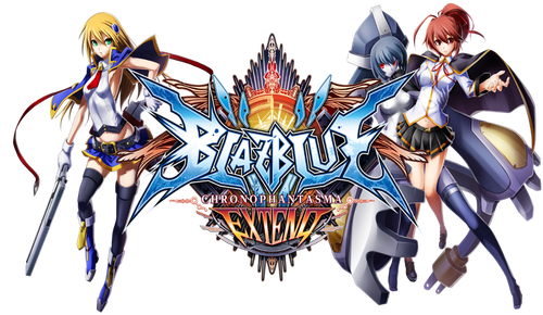 BlazBlue Chronophantasma Extend logo
