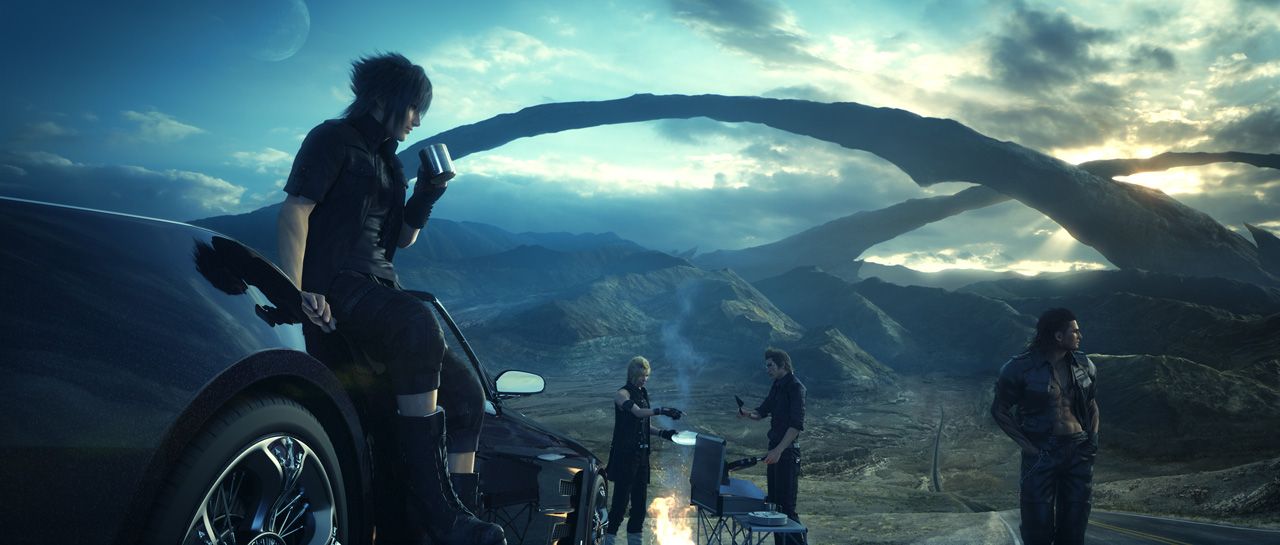Final Fantasy XV Uncovered line