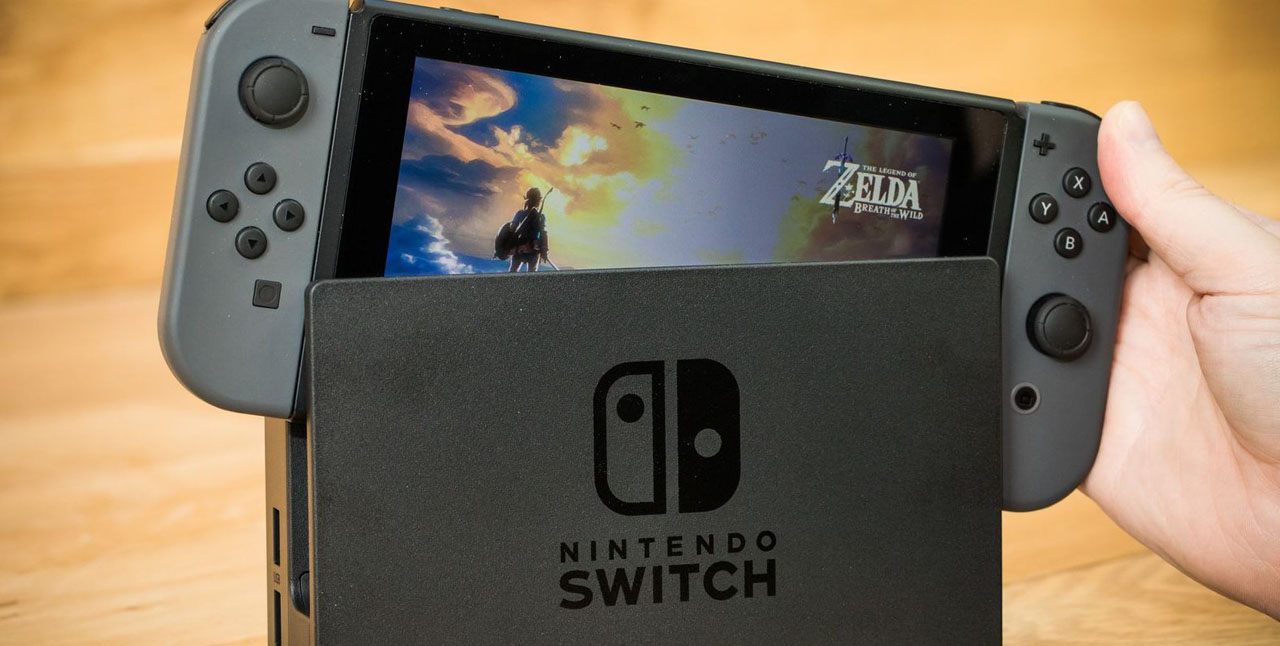 Switch launch console